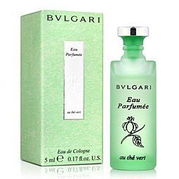 香水1986☆ BVLGARI Eau Parfumee 寶格麗綠茶中性古龍水迷你小香5ml 香水分裝瓶