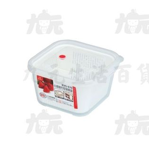 【九元生活百貨】聯府KVS-970小廚師方型保鮮盒微波KVS970