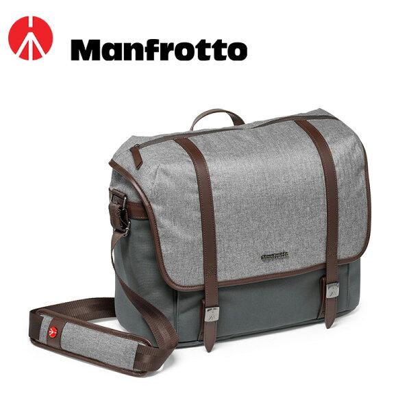 ◎相機專家◎ManfrottoMBLF-WN-MM溫莎生活系列中型單肩攝影包相機側背包單肩正成公司貨