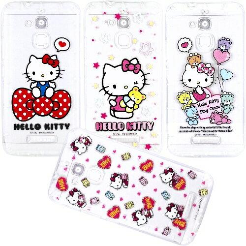 【Hello Kitty】ASUS ZenFone 3 Max 5.2吋 ZC520TL 彩繪空壓手機殼