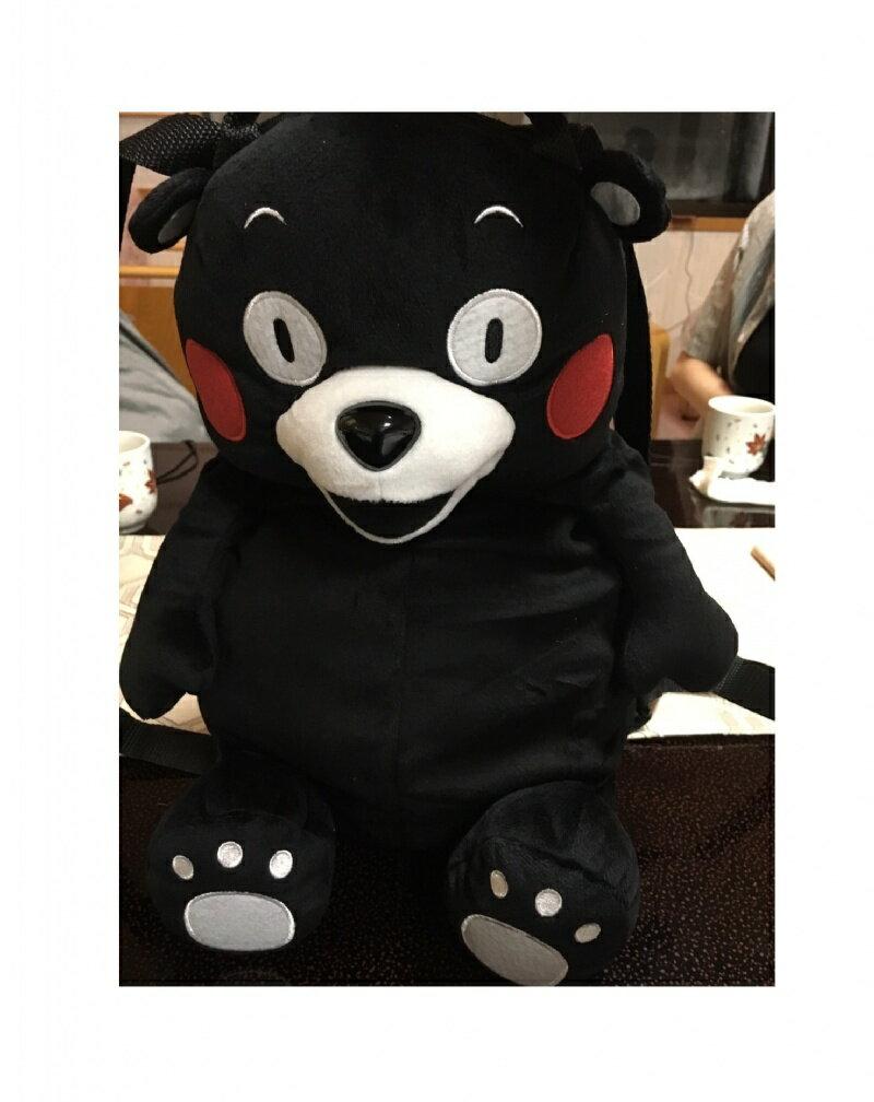 『日本代購品』 熊本城賑災限定 KUMAMON 萌熊可愛背包 非仿品