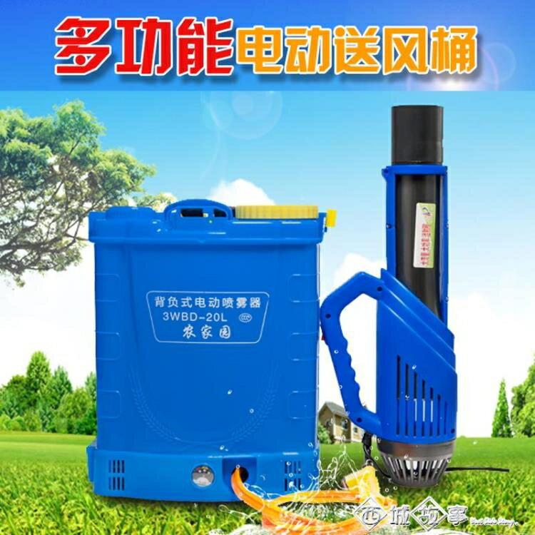 【現貨】第三代風送頭送風槍農用電動噴霧器風送筒吹風噴頭遠程彌霧機 快速出貨