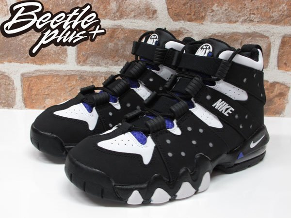 女生 BEETLE NIKE AIR MAX 2 CB'94 BARKLEY GD 黑紫 巴克利 309560-007 1