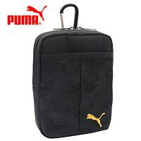 PUMA運動品牌推薦PUMA運動鞋/慢跑鞋/外套推薦到黑色款【日本正版】PUMA 迷彩 收納腰包 收納包 多層收納 旅行收納 - 134395