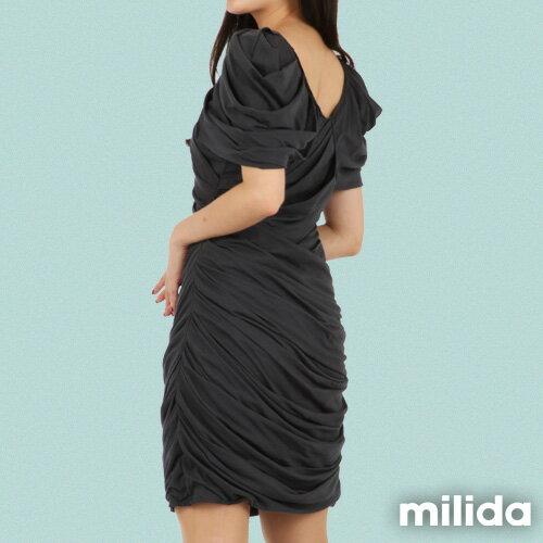 【Milida,全店七折免運】-夏季洋裝-造型款-甜美公主袖設計 3