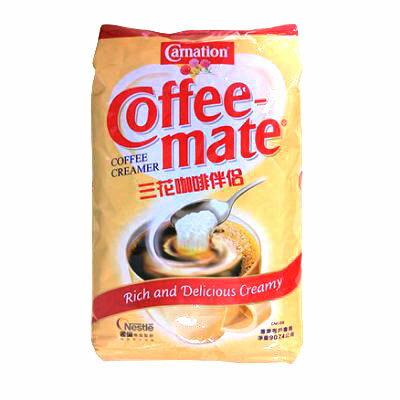 【雀巢】三花咖啡伴侶奶精(2磅裝 ) --【良鎂咖啡精品館】
