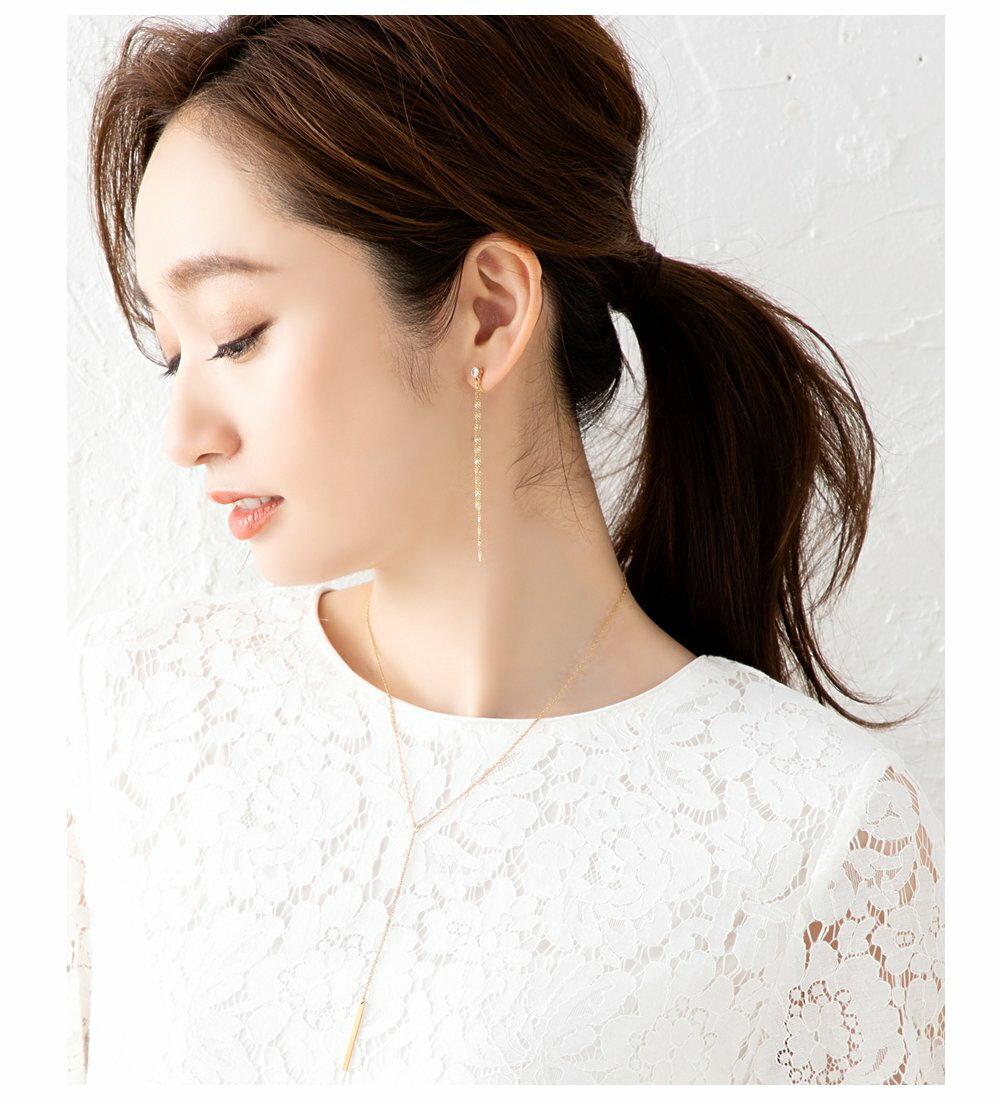 日本Cream Dot  /  典雅Y字項鍊  /  p00016  /  日本必買 日本樂天代購  /  件件含運 6
