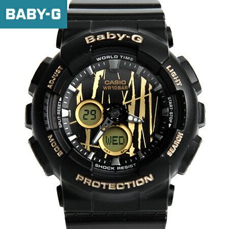 Baby-G 黑金搖滾塗鴉手錶 柒彩年代【NECB16】casio BA-120SP-1ADR