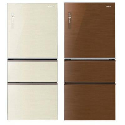 Panasonic 國際牌 NR-C618NHG 全平面玻璃無邊框變頻三門冰箱(610L)★指定區域配送安裝★
