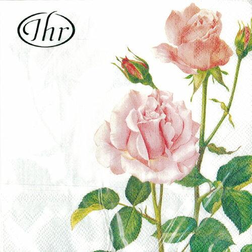 玫瑰之禮-德國IHR餐巾紙(33x33cm)