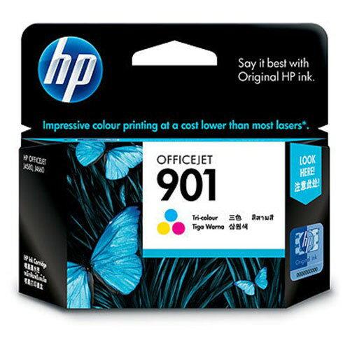 HP NO.901 原廠彩色墨水匣(CC656AA) 適用OJ J4580/J4624/J4660/J4535