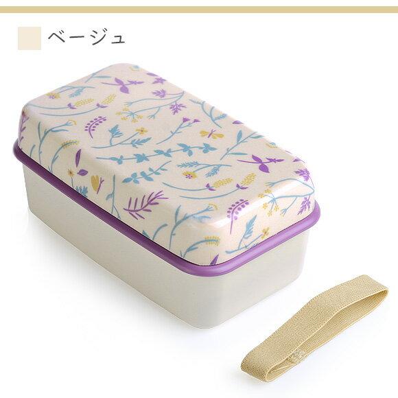 日本便當盒  /  浪漫花漾印花雙層便當盒  /  可微波 可機洗 655ml  /  bis-0502  /  日本必買 日本樂天直送(2300) /  件件含運 8