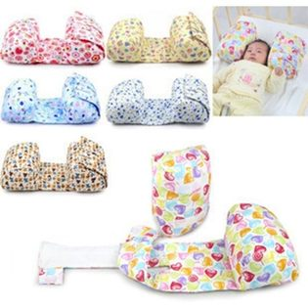 可拆卸新生兒蝴蝶枕枕寶寶側睡枕嬰兒枕頭RA11602好娃娃