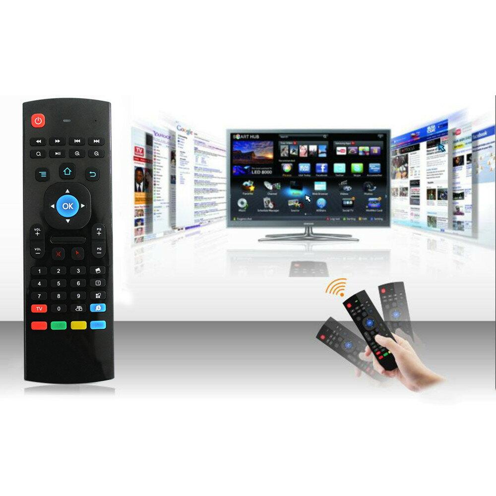 『萬用遙控器』無線電視盒 投影機 電腦 智慧電視 迷你電腦 Anoroid TV電視盒無線鍵盤搖控器