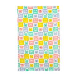 宇宙人 毛毯 單人毯 珊瑚絨毛 新品 白格 Craftholic 日本正版 該該貝比日本精品 ☆