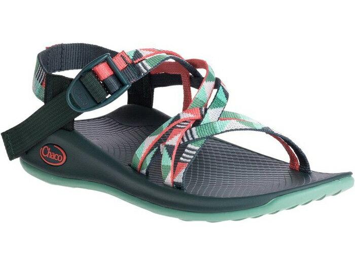 【Chaco 美國】冒險旅遊涼鞋-細織標準款 運動涼鞋 戶外涼鞋 謎樣松綠 女款/CH-ZEW03-HE49