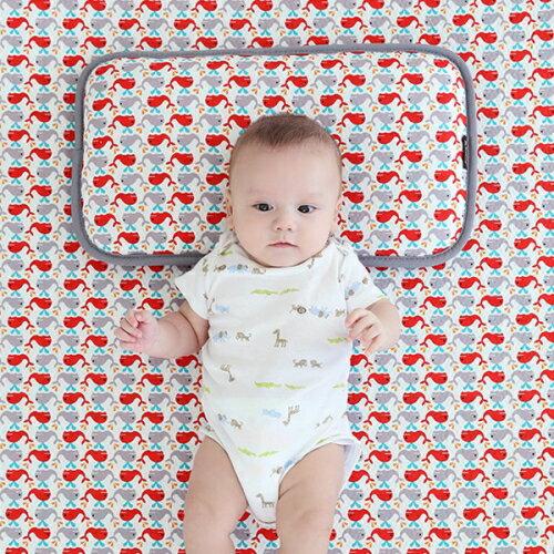 韓國【Borny】3D立體透氣嬰兒床墊 - 小海豚 - 限時優惠好康折扣