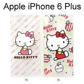 Hello Kitty 透明軟殼 [紅] iPhone 6 Plus / 6S Plus (5.5吋)【三麗鷗Sanrio正版授權】