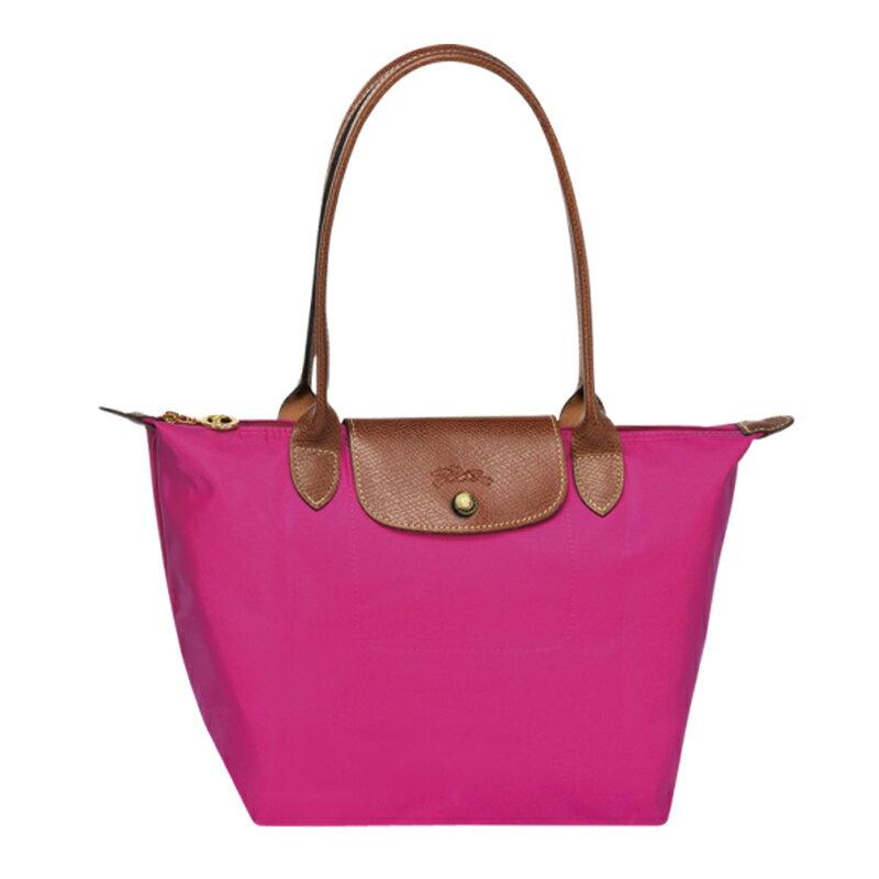 Longchamp   2605 098 556 新款女性包時尚潮流可折疊水餃包中號長柄餃子包 2
