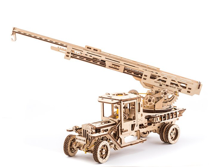 Ugears 自我推進模型 (Additions for Truck UGM-11卡車改造配件) 7
