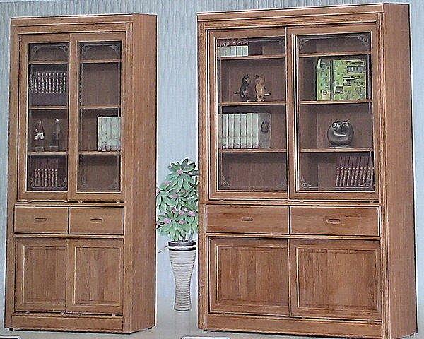 【尚品家具】614-28 正赤楊木 四尺實木推門中抽書櫃~另有下抽書櫃~另有三尺書櫃/書櫥/收納櫃/書架