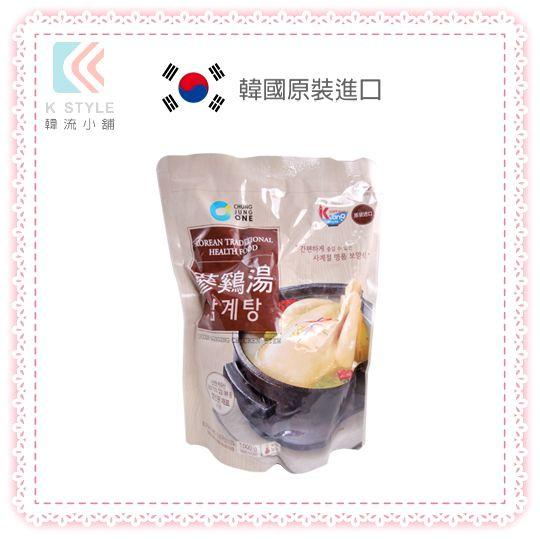韓國  Daesang 大象 人蔘雞湯 糯米雞 即熱即食 韓國傳統 湯