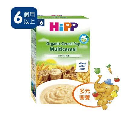 【6盒超值組促銷】Hipp喜寶-有機寶寶綜合黃金穀物精200gx6盒1270元*美馨兒