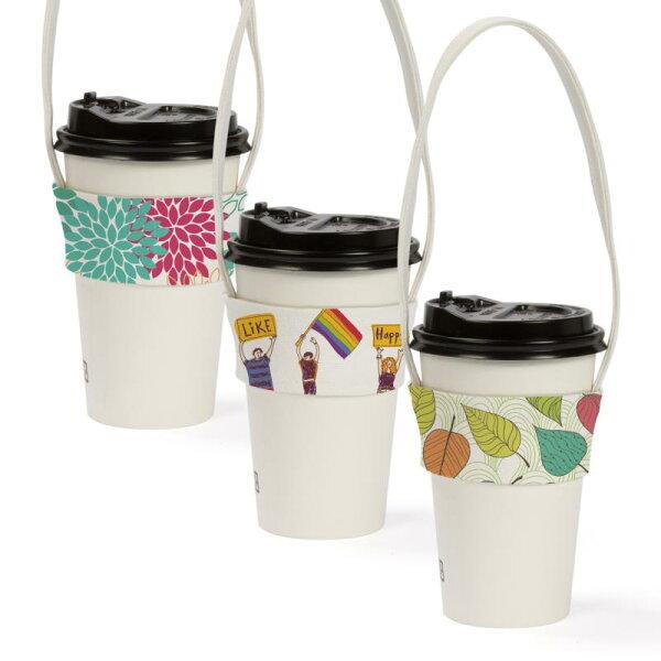S1全球批發網:【客製化】窄版染白帆布飲料杯提袋(全版全彩數位直噴)S1-01087WAA