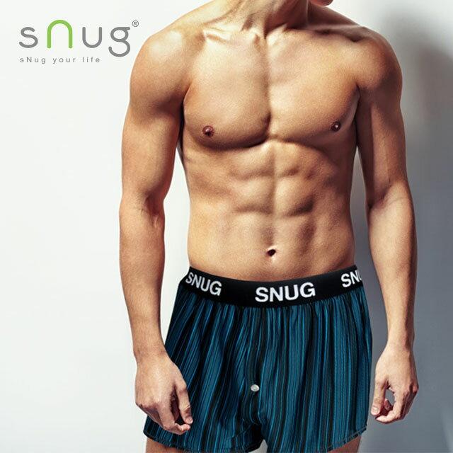 Snug-新元素四角褲(寬腰帶) 男內褲 羽嵐服飾