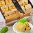 【【APOSO・ゴールデンパイナップルケーキ12個】厳選した台湾八掛山パイナップル等高品質で天然な食材を利用、心をこめて手作りの最高の美味しさ(送料別) 0