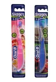 【歐樂B】迪士尼兒童牙刷3號(5-7歲適用) 2種可選擇
