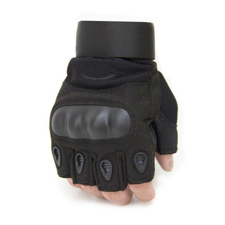 O記 半指戰術手套 重機車手套 哈雷半指 美軍格鬥 防滑防割 特種兵戶外用 防摔手套 單車手套 戰術手套 手套