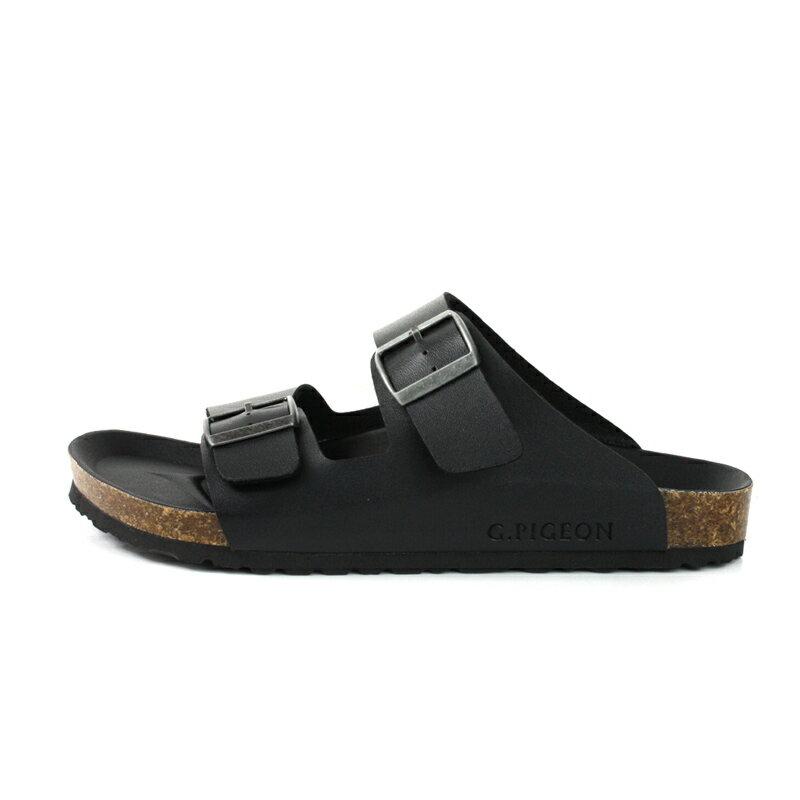 G.P 阿亮代言 拖鞋 勃肯鞋 黑色 男鞋 M371-10 no051 5