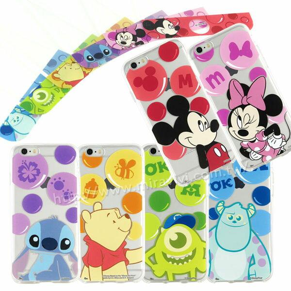 【Disney】[APPLE]泡泡系列玻璃保護貼+彩繪保護軟套[I6,I6S/I6+,I6s+] 7