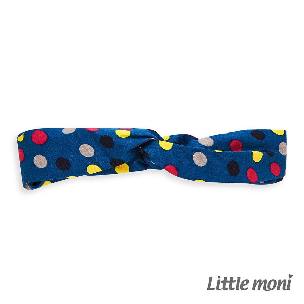Little Moni 幾何圖形造型髮帶-土耳其藍