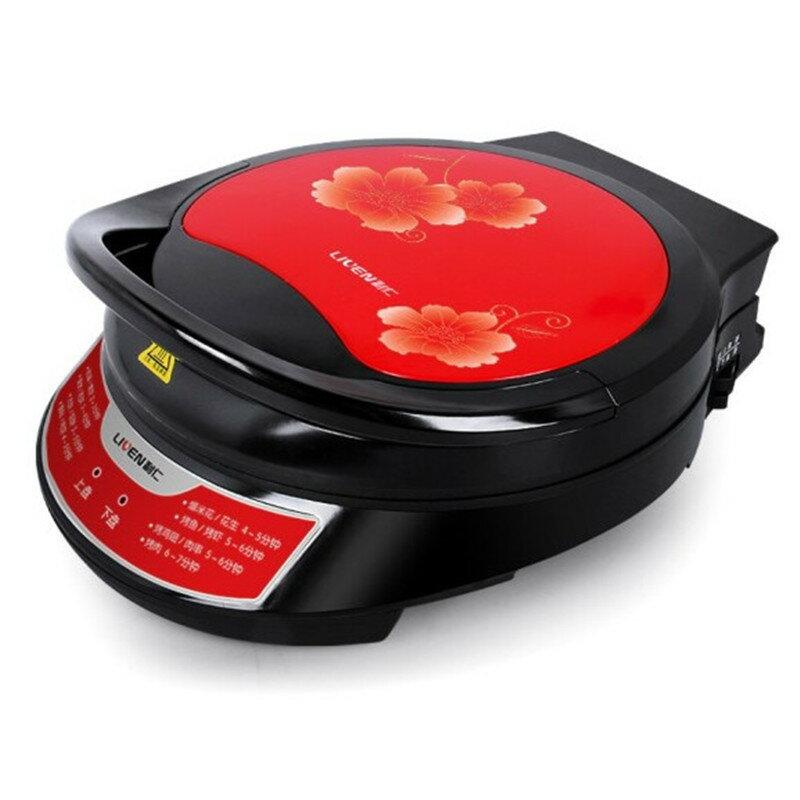【免運快出】電餅鐺 利仁 110V雞蛋仔機  雙面懸浮 點心機 加熱機  烙餅機 燒烤鍋 披薩鍋 蛋糕機 烤麵包機   元旦 創時代 元旦  交換禮物