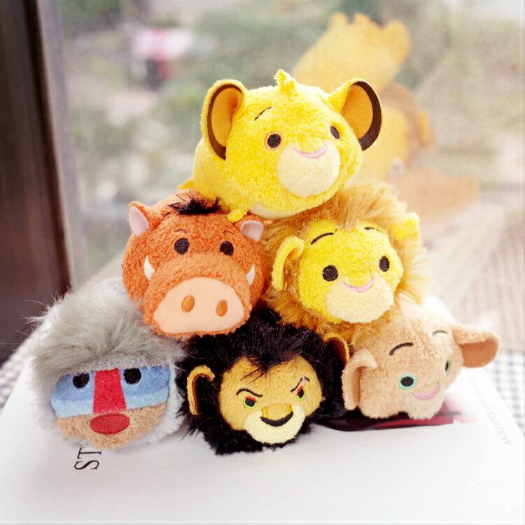 PGS7 日本迪士尼系列商品 - 日本 Lion King 獅子王 TSUM TSUM 疊疊樂 沙包 娃娃【SJD7232】