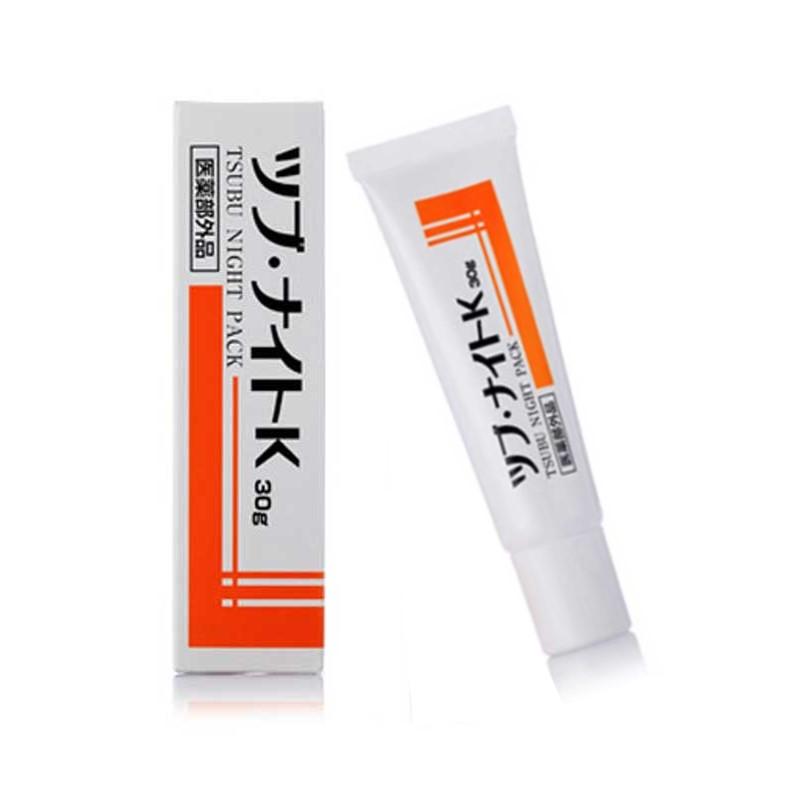 日本 Tsubu Night Pack 去眼部油脂粒夜間修護眼膜 去除眼部角質粒 小肉芽 30g【特價】§異國精品§ 1