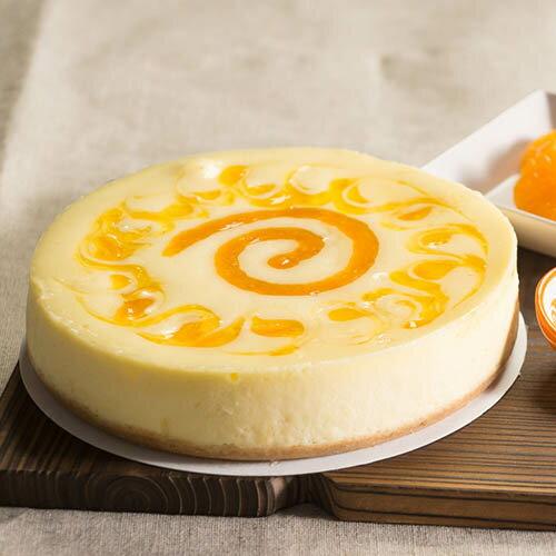 木匠手作★香橙中乳酪蛋糕★▶全館滿499免運 - 限時優惠好康折扣