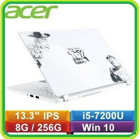 【皮克斯30週年 玩具總動員紀念筆電】ACER V3-372-50AX 白 13.3