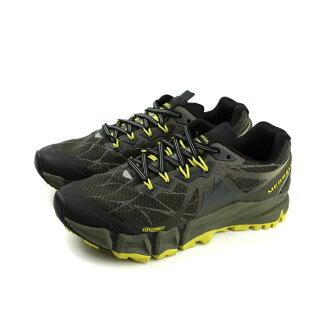 MERRELL AGILITY PEAK FLEX 運動鞋 慢跑鞋 健行 墨綠色 綠色 女鞋 ML09636 no844
