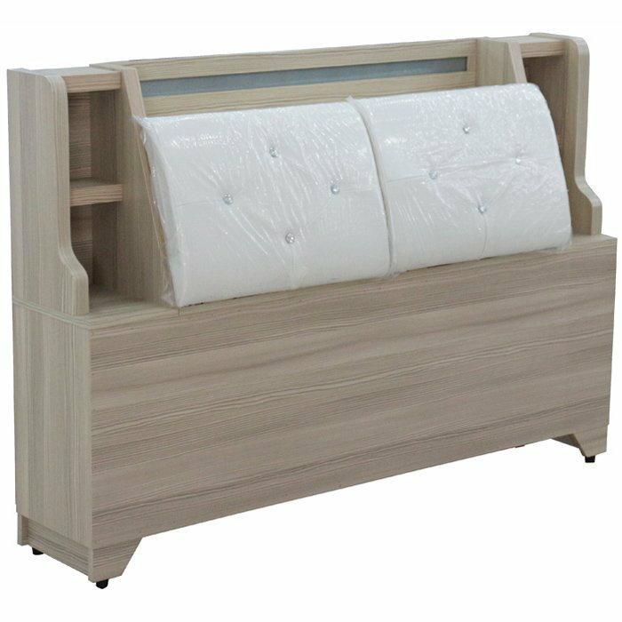 【尚品傢俱】365-01 伽利略 白斑馬5尺床頭箱~另有胡桃色/床頭櫥櫃/床頭收納櫃/床頭置物櫃/臥室床頭儲物箱