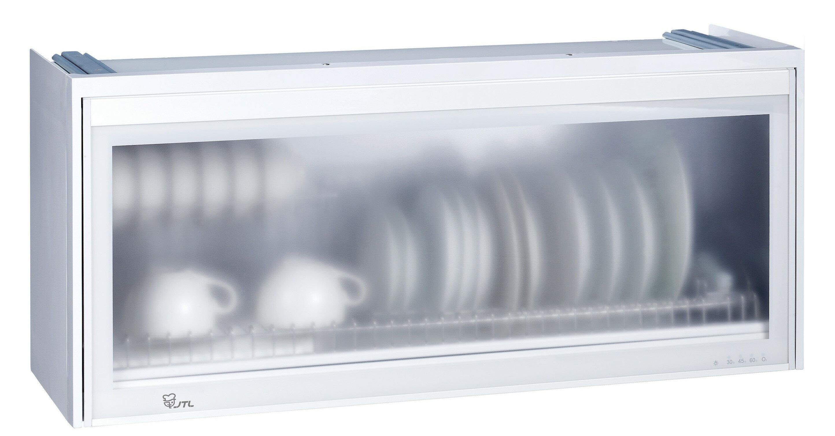 【品僑企業行】喜特麗JT-3618Q(80cm臭氧型)/JT-3619Q(90cm臭氧型)全平面懸掛式烘碗機