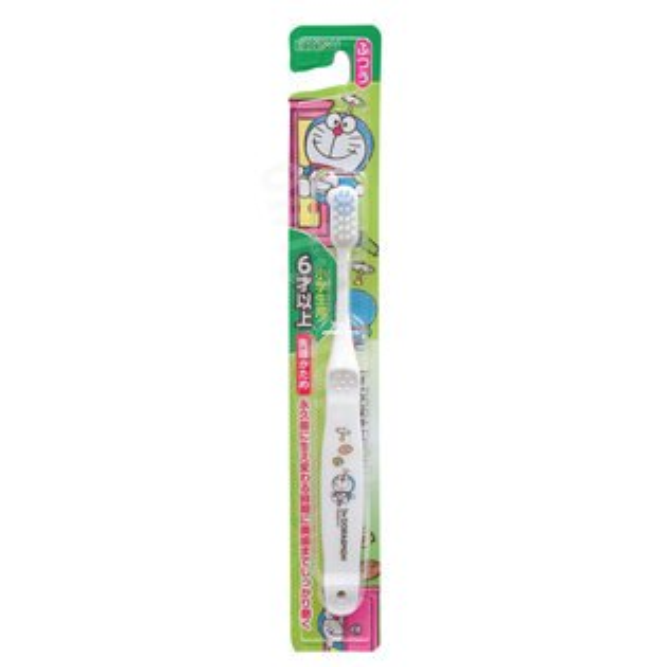 【真愛日本】18051500015日製牙刷EBISU-DA白小叮噹哆啦A夢兒童牙刷牙刷EBISU