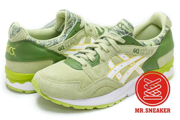 ☆Mr.Sneaker☆ASICSTigerGEL-LYTEVH6D1L7301胡椒綠色男女段