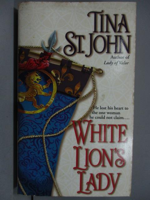 ~書寶 書T6/原文小說_KAK~White Lion #x27 s Lady_Tina