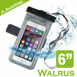 ~Avantree Walrus 音樂手機防水袋^(可接防水耳機^)~附臂帶 頸掛式吊繩