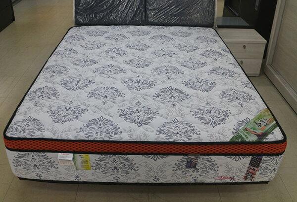 【尚品傢俱】754-08波賽頓4D透氣網布高級獨立筒床墊