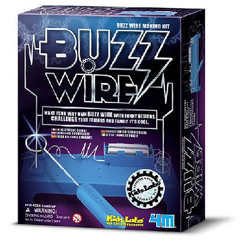 【4M 創意 DIY】Buzz Wire Making Kit 科學系列之電路