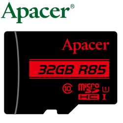 Apacer 宇瞻 32GB 85MB/s microSD microSDHC TF U1 C10 記憶卡